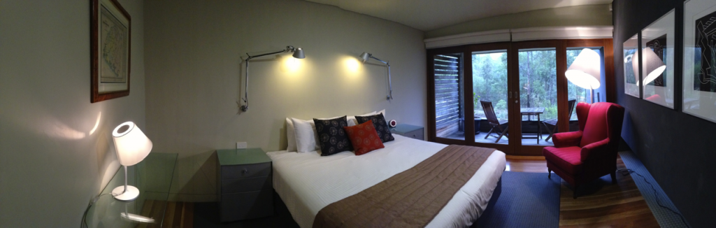 The Vintry. Hunter Valley Accommodation. King Spa Room
