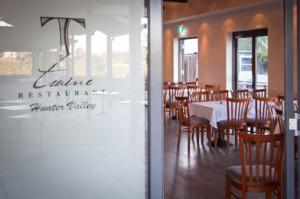 Twine Restaurant Pokolbin Hunter Valley