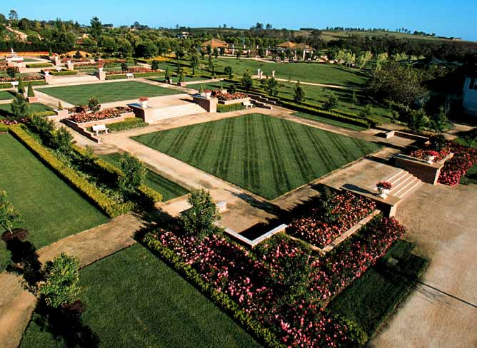 The Formal Garden. Hunter Valley Gardens