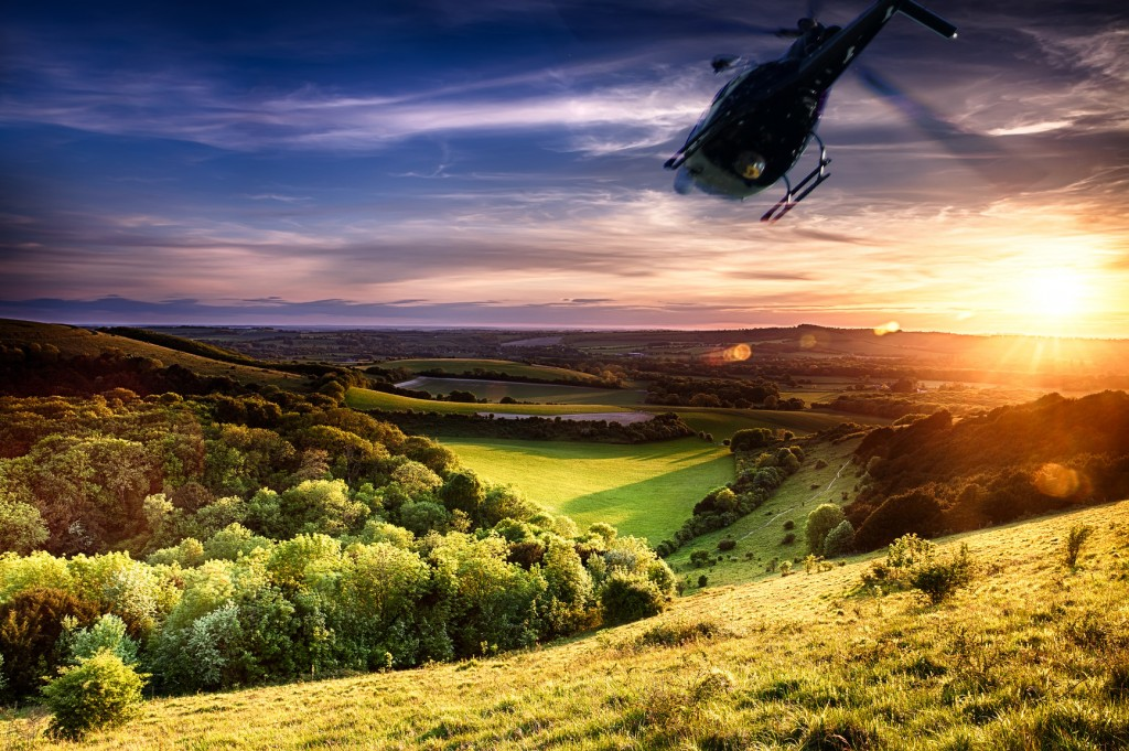 Romantic Getaway in the Hunter Valley with a senic helicoptor flight