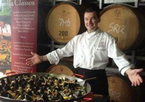 Paella Classes with Matt Dillow at The Verandah, Pokolbin in the Hunter Valley