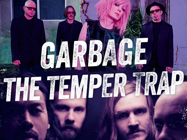 a day on the green | Garbage & The Temper Trap