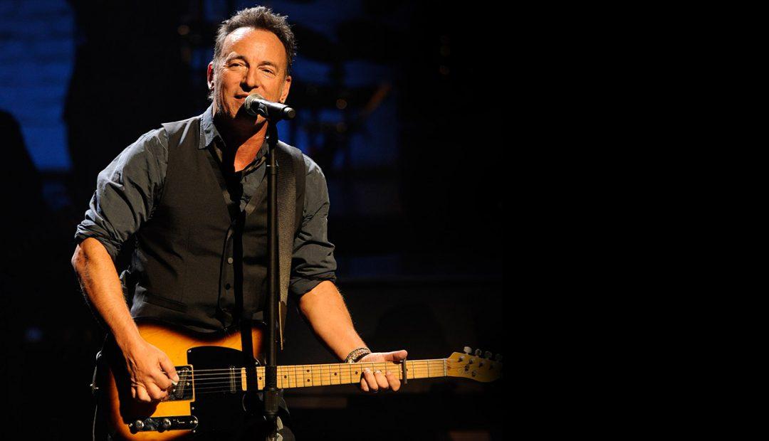 Bruce Springsteen in February