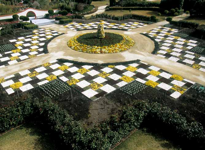 The Indian Mosaic at Hunter Valley Gardens