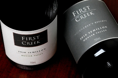 Hunter Valley 101. First Creek Wines