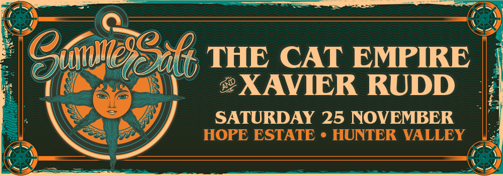 SummerSalt with special performances by The Cat Empire & Xavier Rudd