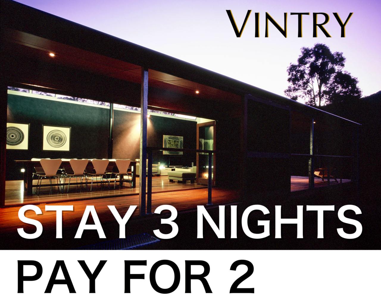 Hunter Valley Accommodation Deal