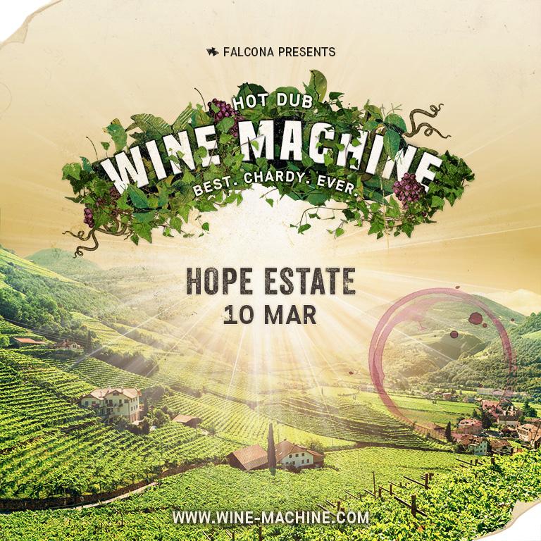 Hot Dub Wine Machine Hunter Valley