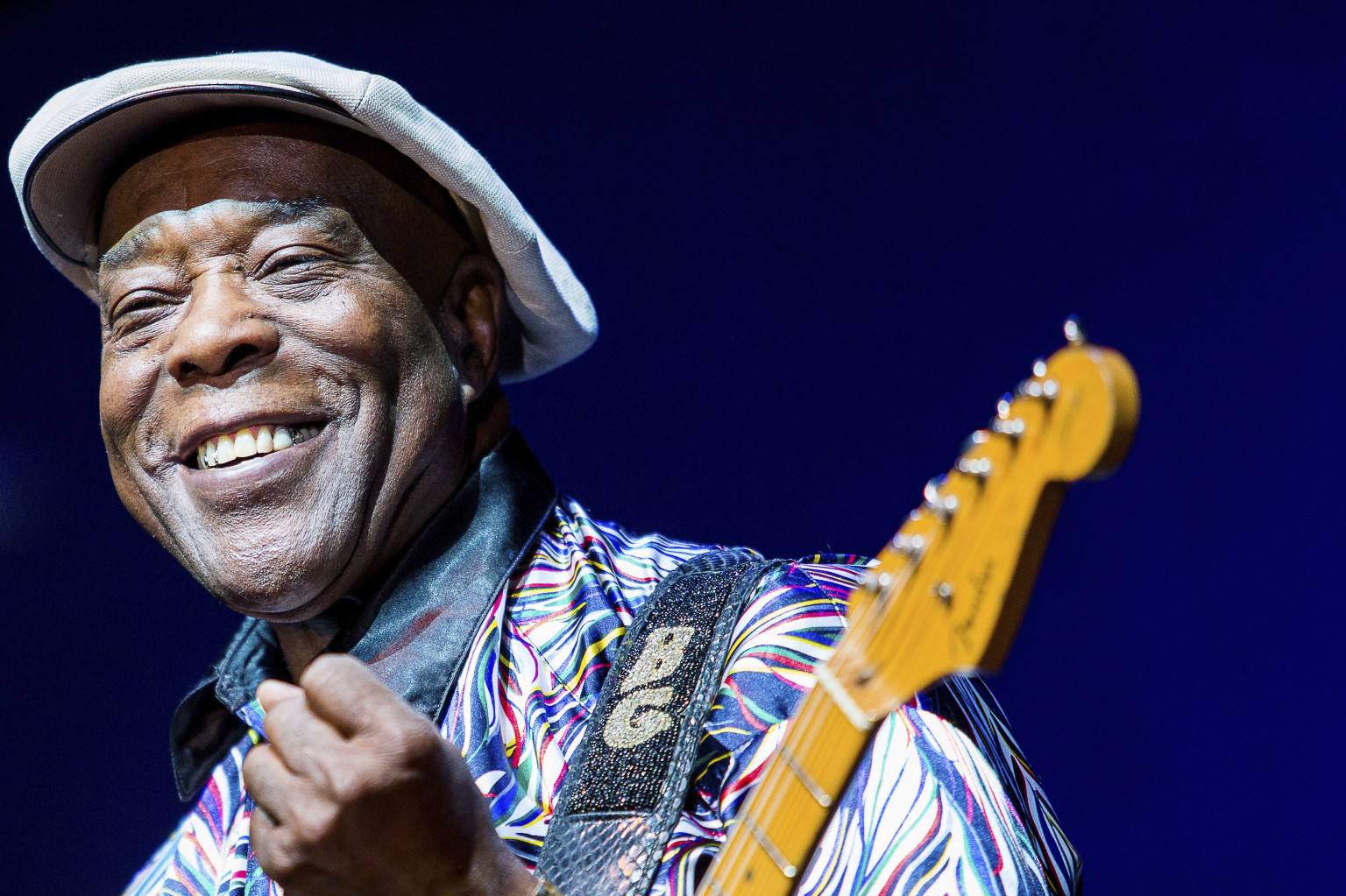 Buddy Guy in the Hunter Valley at Roche Estate as part of Blues in the Vine 10 February 2018