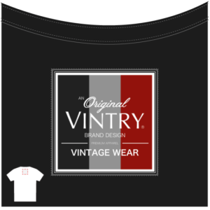 Vintry® Vintage Wear Black